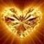 Verzachting gouden hart